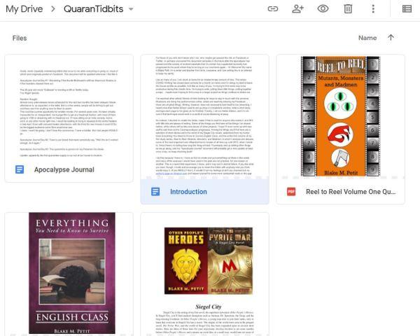 QuaranTidbits